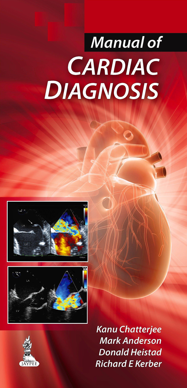Portada del libro 9789351521945 Manual of Cardiac Diagnosis