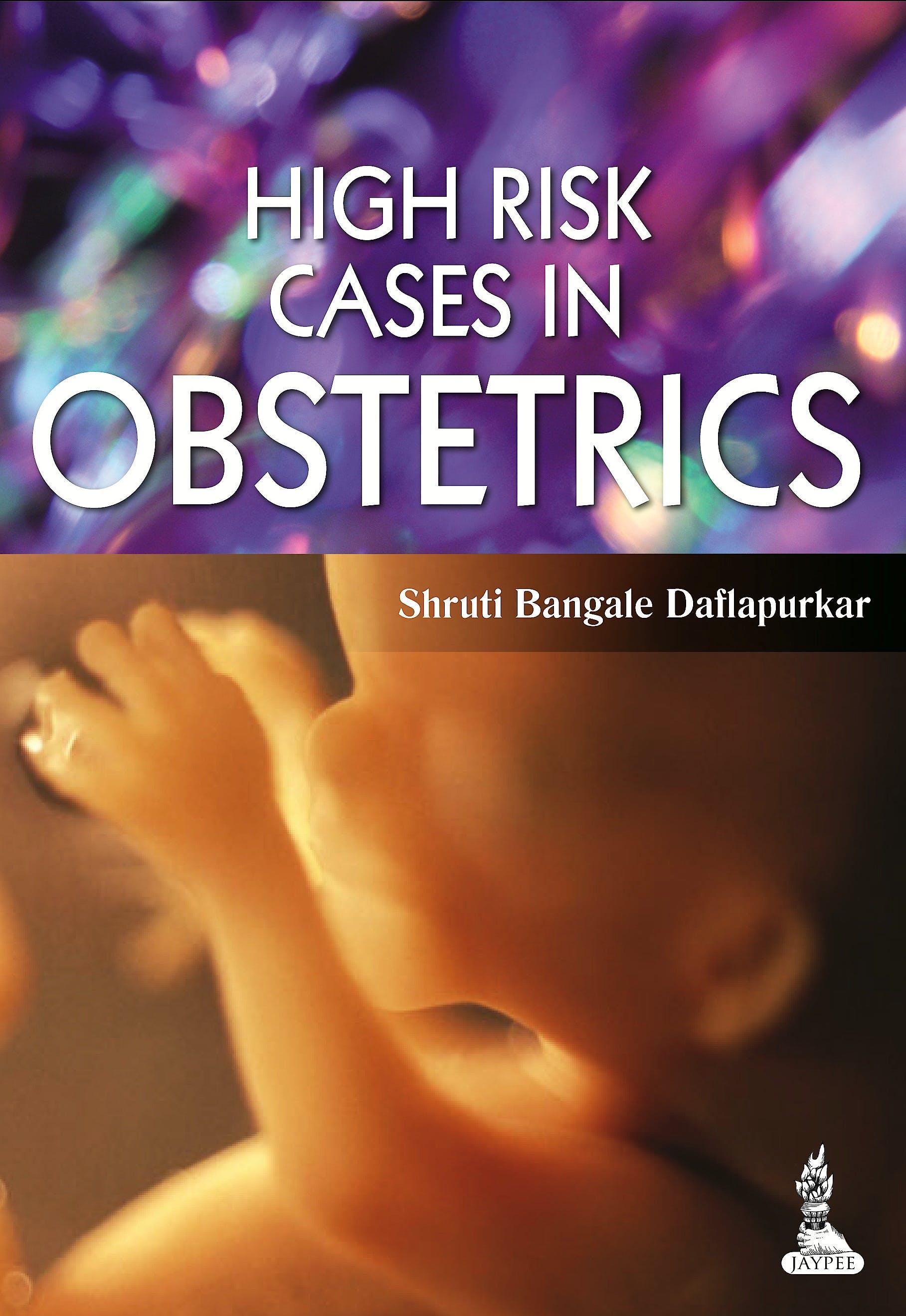 Portada del libro 9789351522188 High Risk Cases in Obstetrics