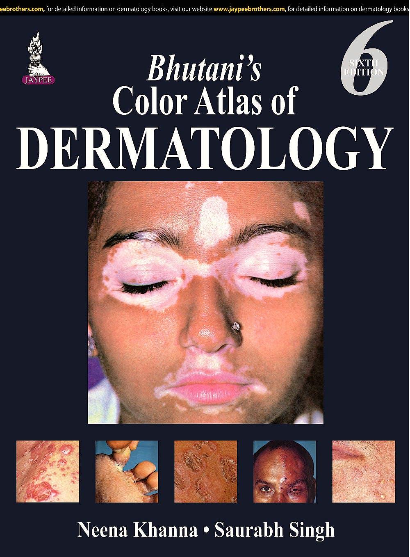 Portada del libro 9789351523024 Bhutani's Color Atlas of Dermatology