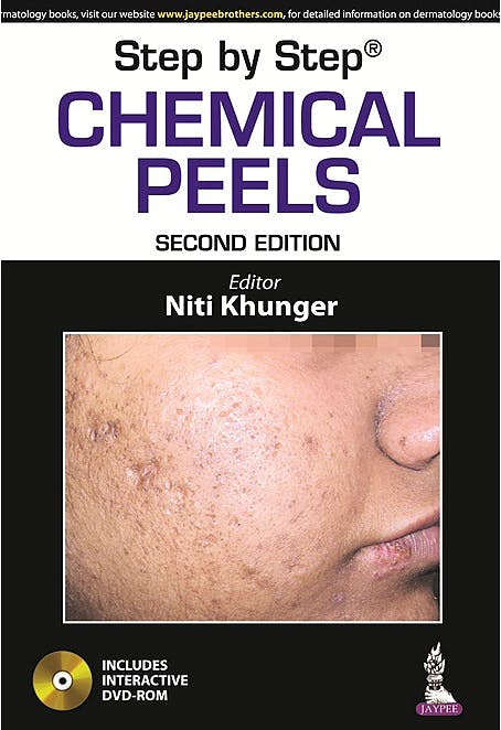 Portada del libro 9789351523116 Step by Step Chemical Peels
