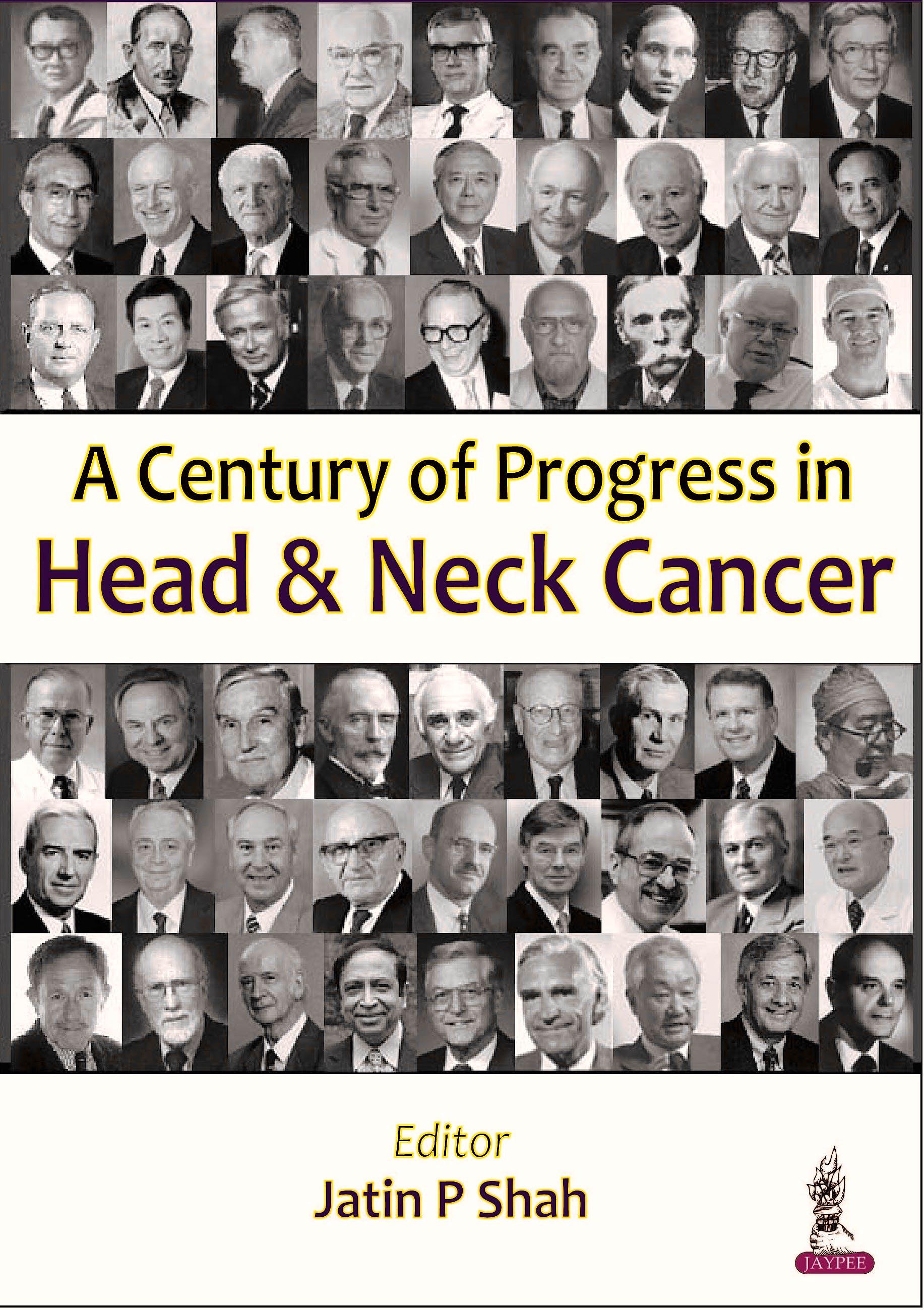 Portada del libro 9789351523123 A Century of Progress in Head and Neck Cancer