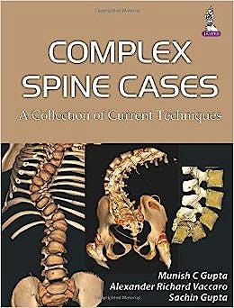 Portada del libro 9789351523864 Complex Spine Cases. a Collection of Current Techniques