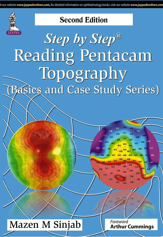 Portada del libro 9789351523970 Step by Step Reading Pentacam Topography