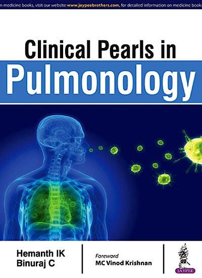 Portada del libro 9789351524175 Clinical Pearls in Pulmonology