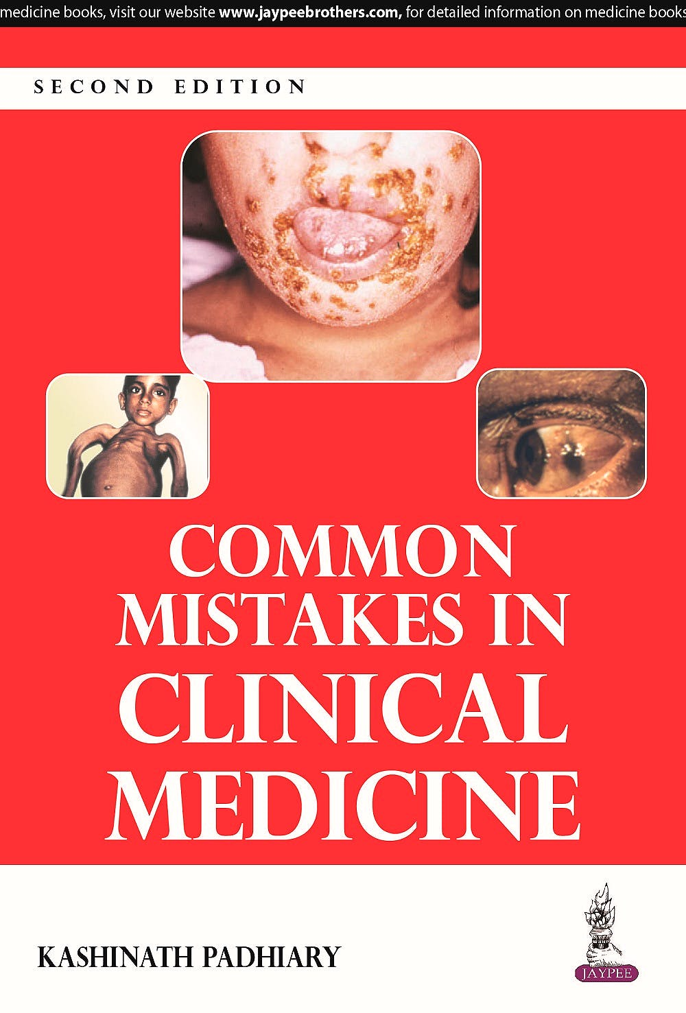 Portada del libro 9789351524182 Common Mistakes in Clinical Medicine