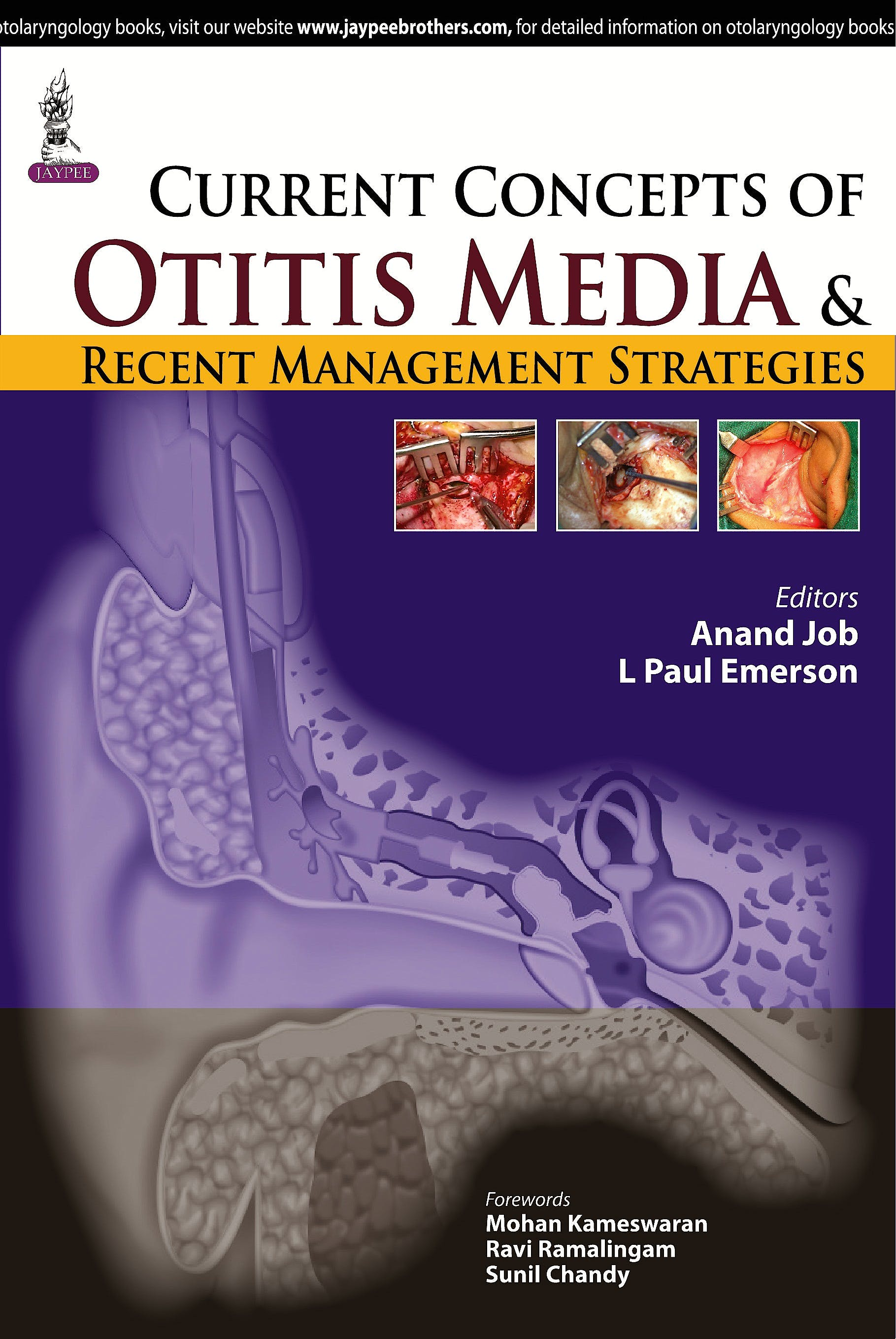 Portada del libro 9789351524533 Current Concepts of Otitis Media and Recent Management Strategies