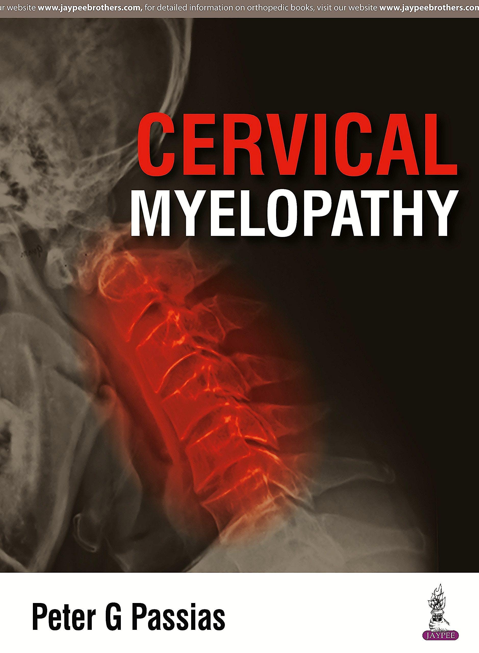 Portada del libro 9789351524922 Cervical Myelopathy