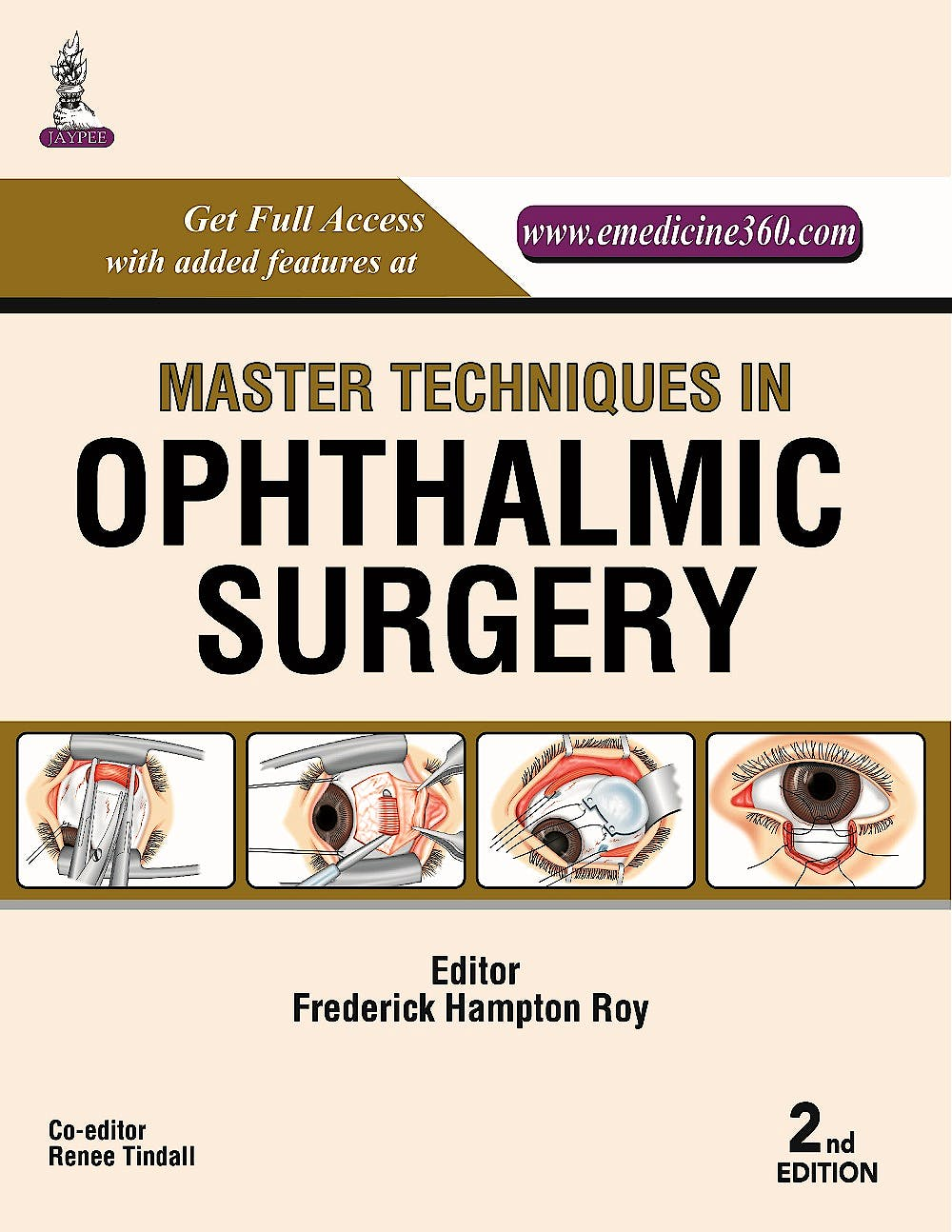 Portada del libro 9789351525011 Master Techniques in Ophthalmic Surgery