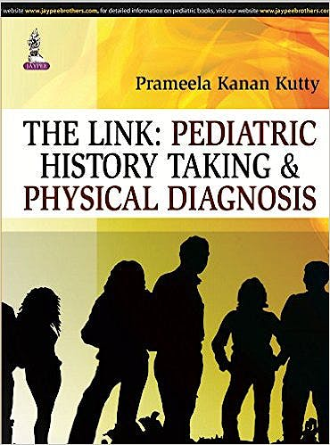 Portada del libro 9789351525127 The Link: Pediatric History Taking and Physical Diagnosis