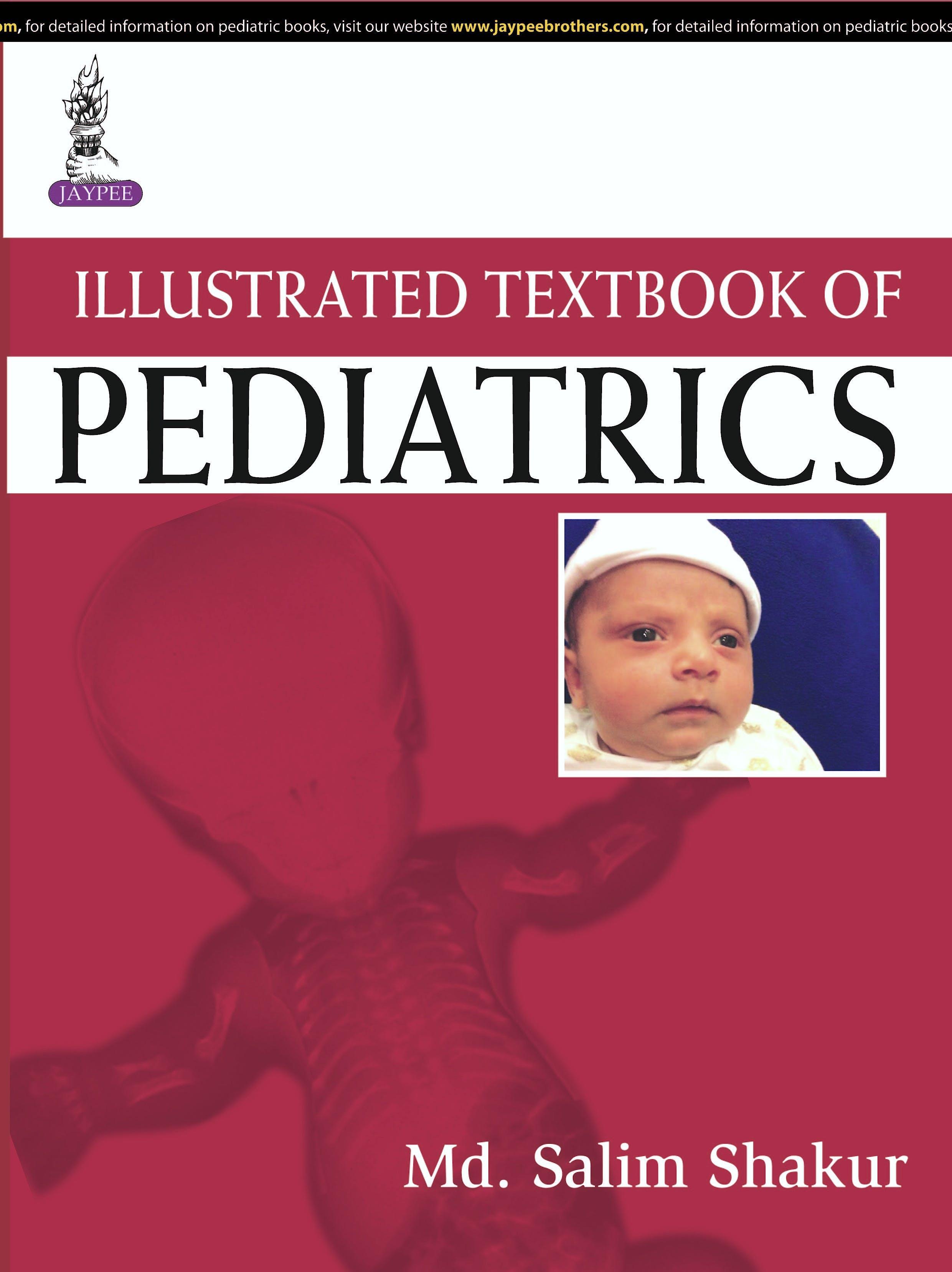 Portada del libro 9789351525158 Illustrated Textbook of Pediatrics