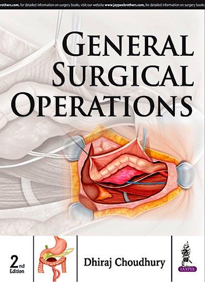 Portada del libro 9789351525202 General Surgical Operations
