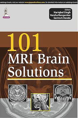 Portada del libro 9789351525530 101 MRI Brain Solutions