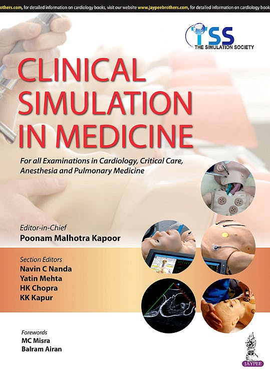 Portada del libro 9789351525639 Clinical Simulation in Medicine