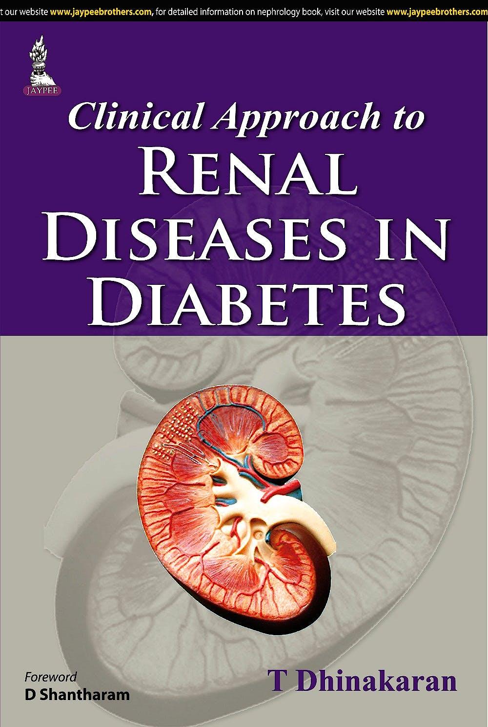 Portada del libro 9789351525721 Clinical Approach to Renal Diseases in Diabetes