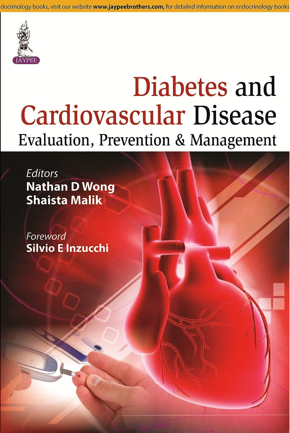 Portada del libro 9789351526018 Diabetes and Cardiovascular Disease. Evaluation, Prevention and Management
