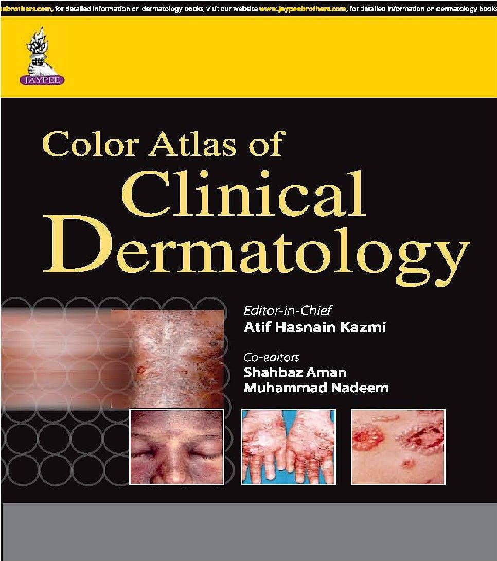 Portada del libro 9789351526278 Color Atlas of Clinical Dermatology
