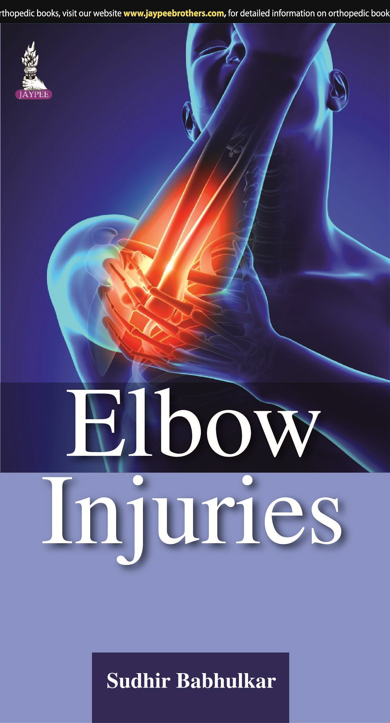 Portada del libro 9789351526353 Elbow Injuries