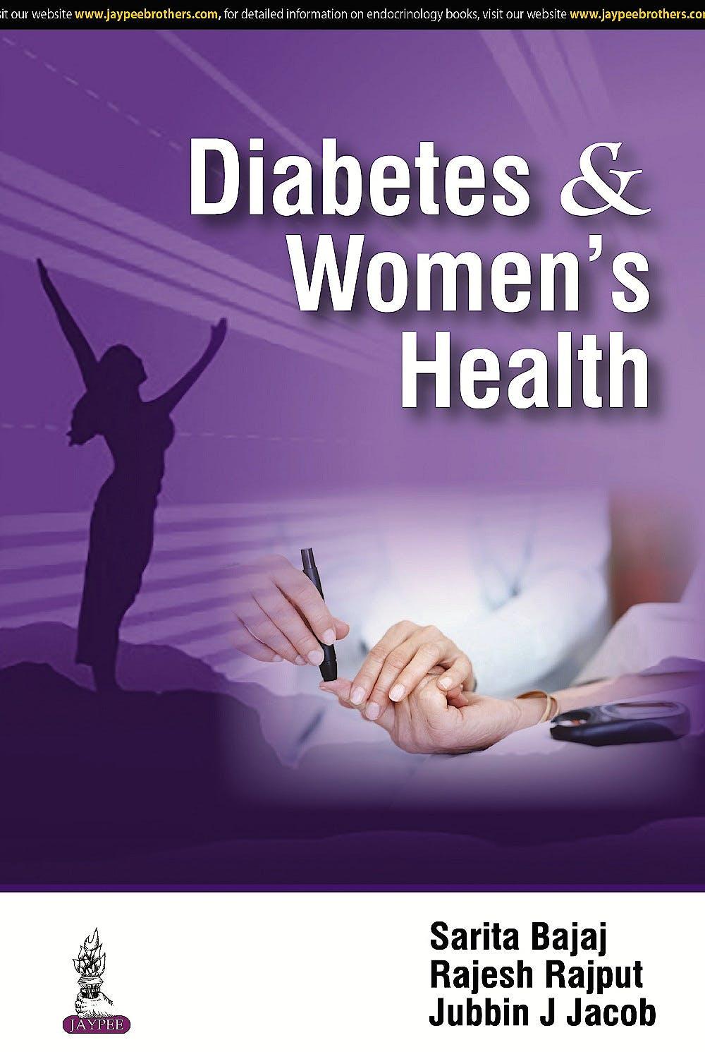 Portada del libro 9789351526445 Diabetes and Women's Health