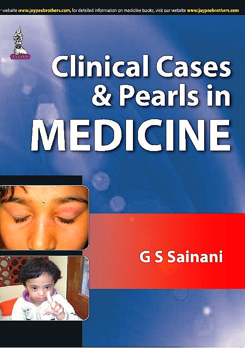 Portada del libro 9789351526469 Clinical Cases and Pearls in Medicine