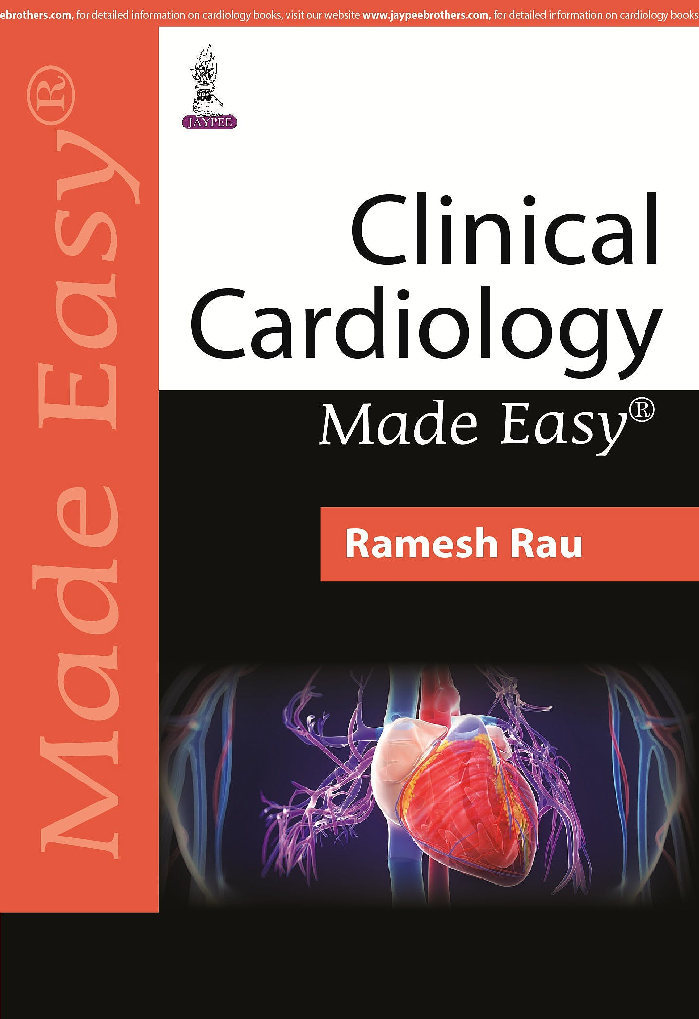 Portada del libro 9789351526629 Clinical Cardiology Made Easy