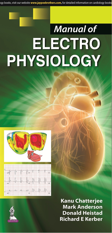 Portada del libro 9789351526643 Manual of Electrophysiology