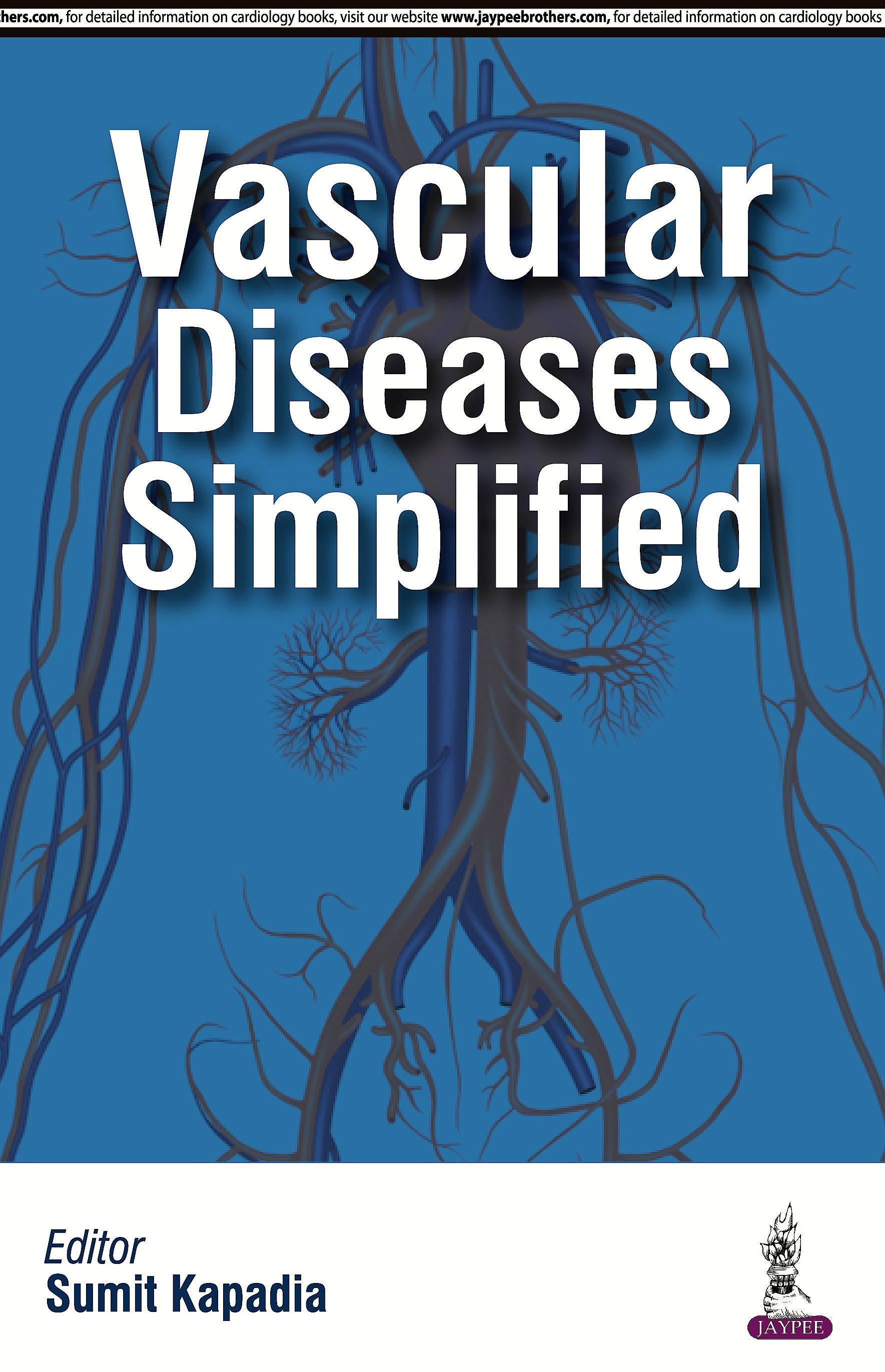 Portada del libro 9789351526711 Vascular Diseases Simplified