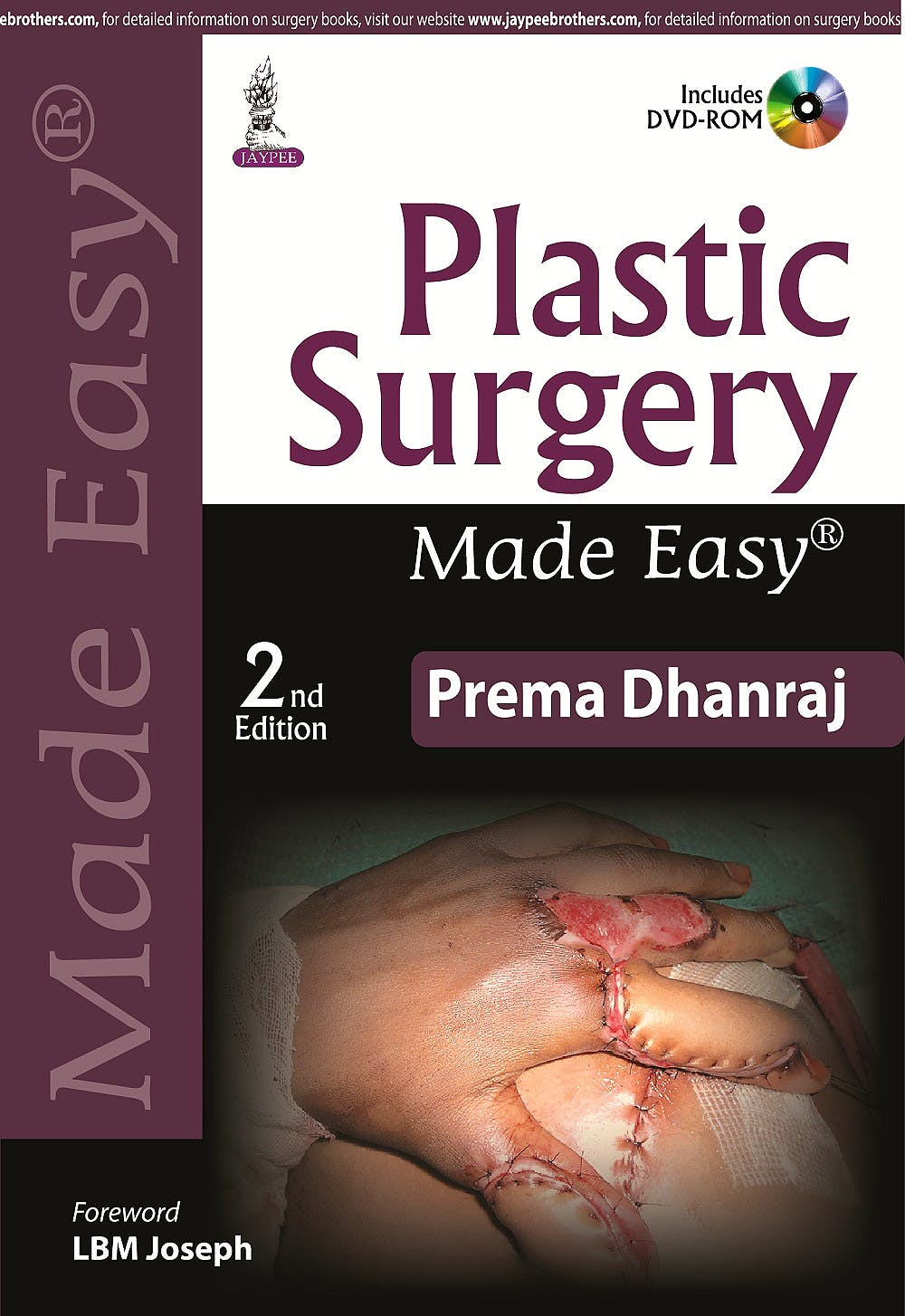 Portada del libro 9789351526803 Plastic Surgery Made Easy