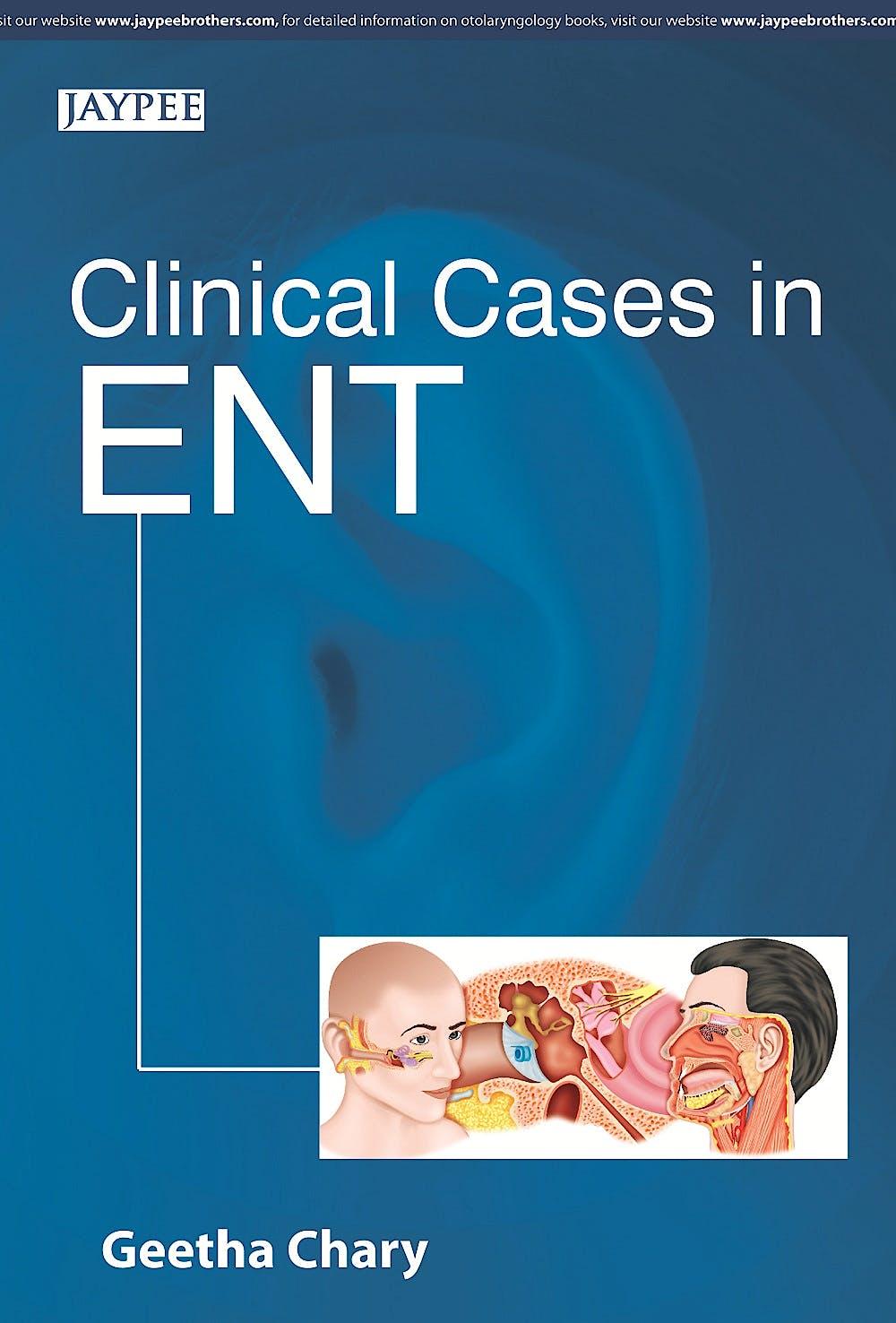 Portada del libro 9789351527268 Clinical Cases in Ent
