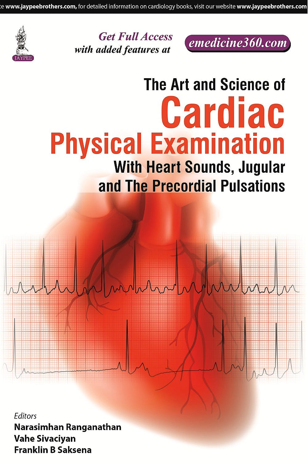 Portada del libro 9789351527770 The Art and Science of Cardiac Physical Examination