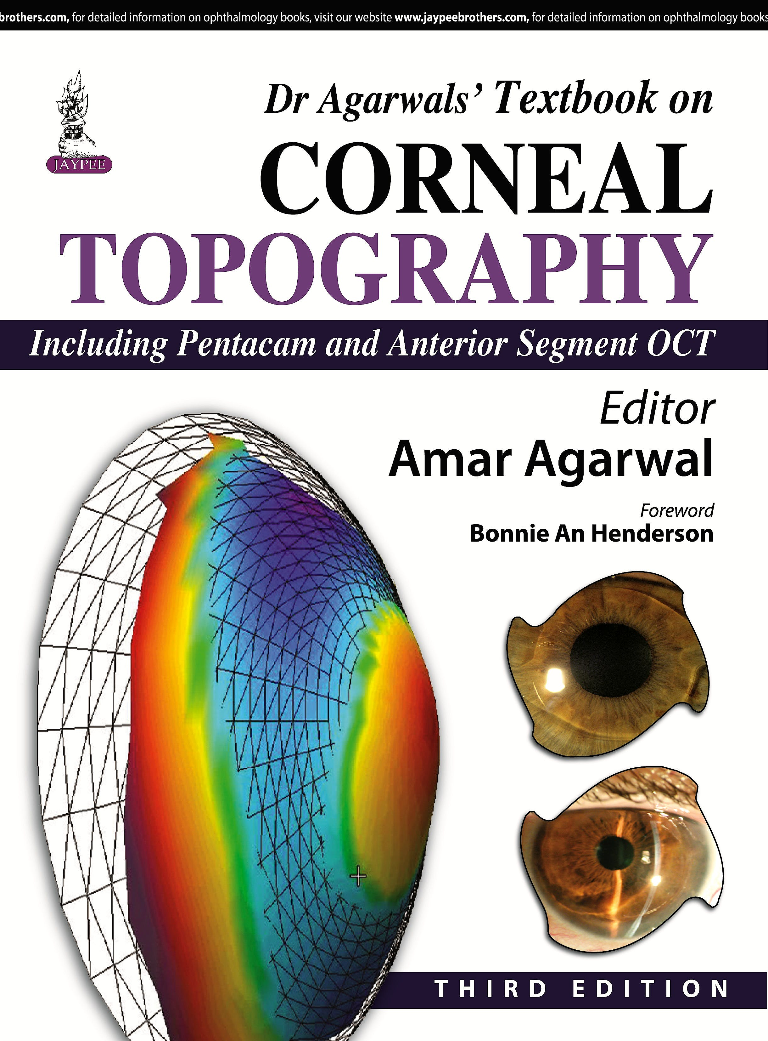 Portada del libro 9789351527855 Dr Agarwal's Textbook on Corneal Topography