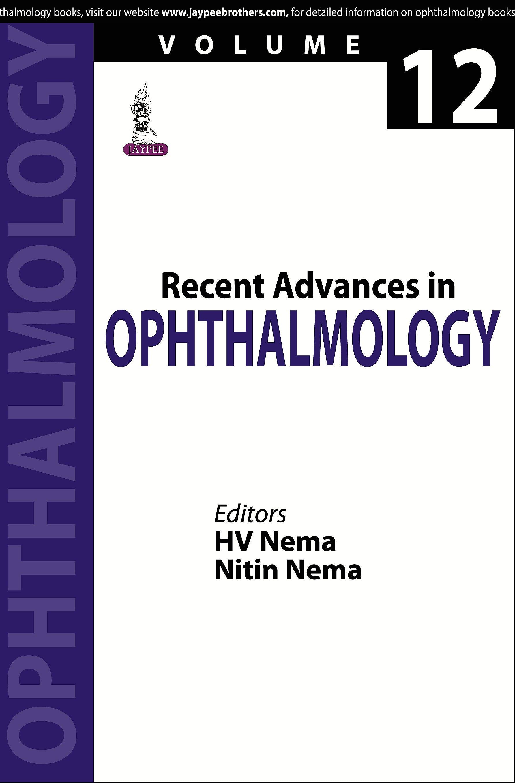 Portada del libro 9789351527909 Recent Advances in Ophthalmology, Vol. 12