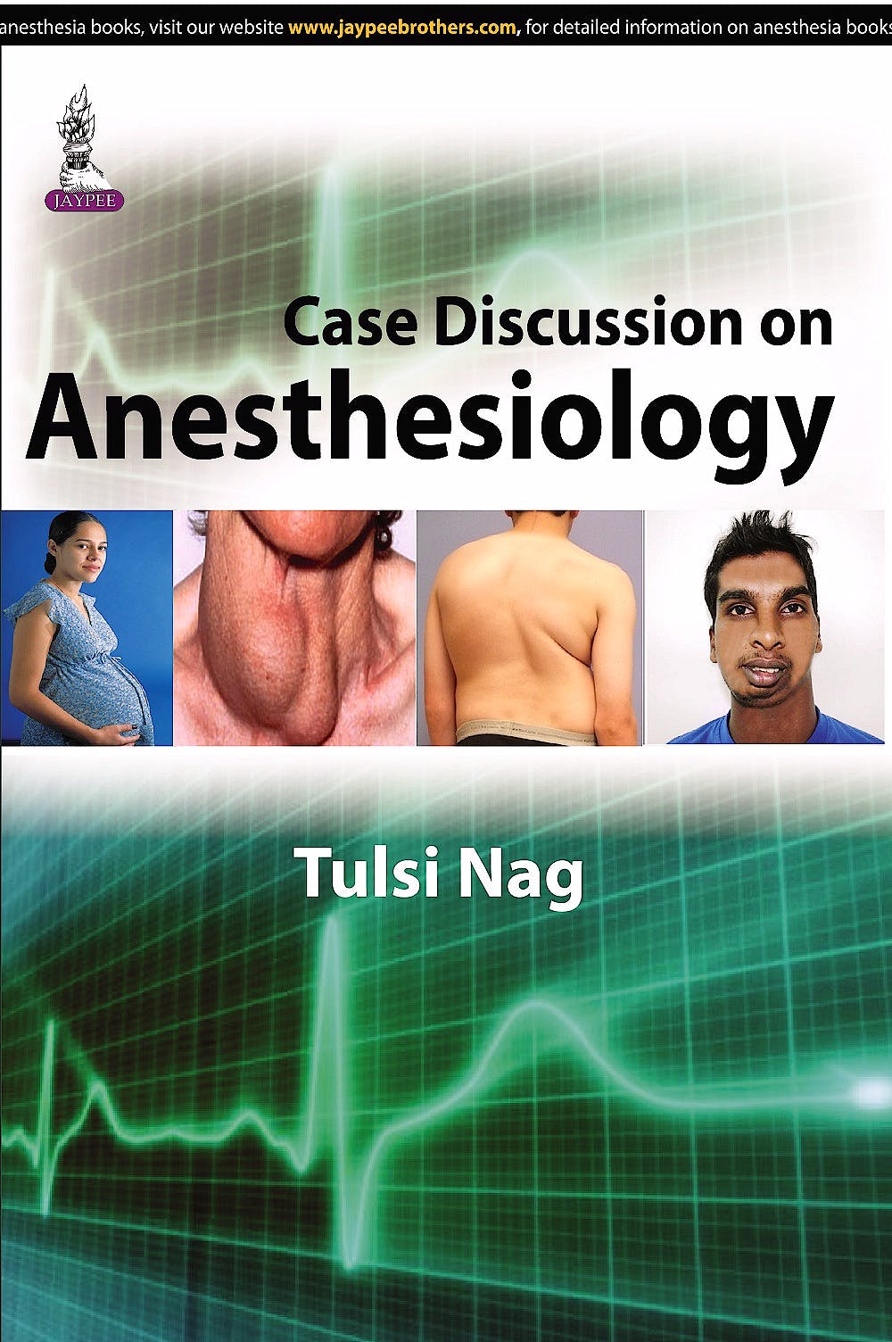 Portada del libro 9789351528203 Case Discussion on Anesthesiology