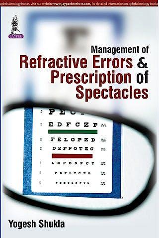 Portada del libro 9789351528845 Management of Refractive Errors and Prescription of Spectacles
