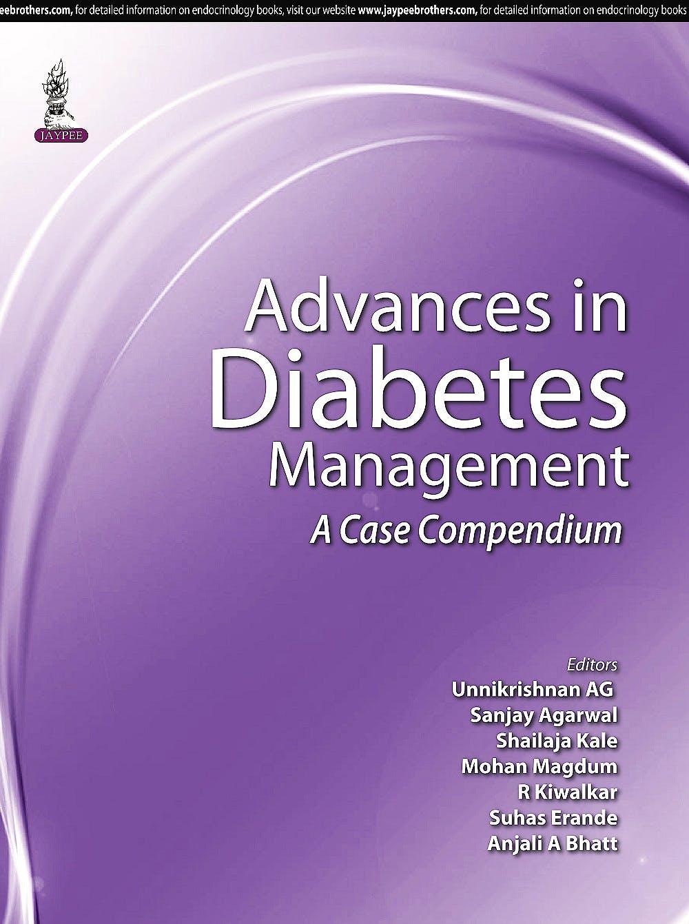Portada del libro 9789351529033 Advances in Diabetes Management