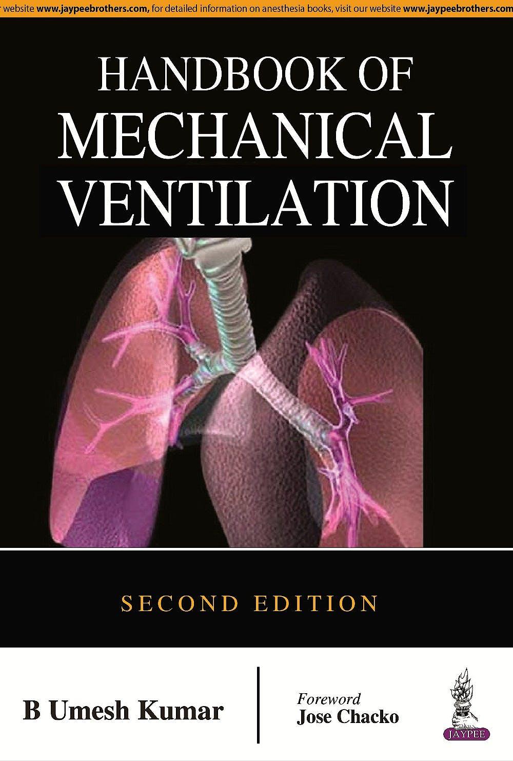 Portada del libro 9789351529217 Handbook of Mechanical Ventilation