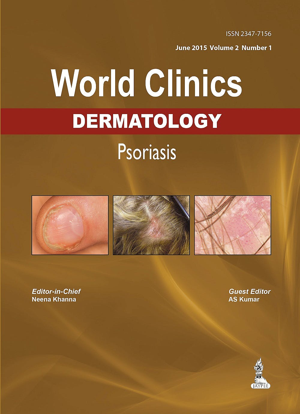 Portada del libro 9789351529279 World Clinics Dermatology. Psoriasis