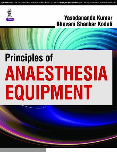 Portada del libro 9789351529385 Principles of Anaesthesia Equipment
