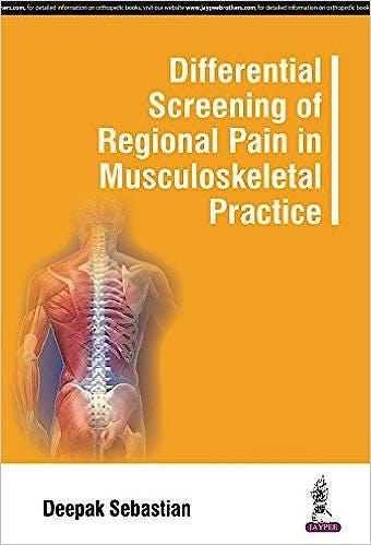 Portada del libro 9789351529545 Differential Screening of Regional Pain in Musculoskeletal Practice