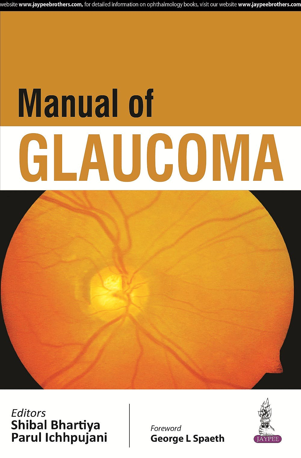 Portada del libro 9789351529644 Manual of Glaucoma