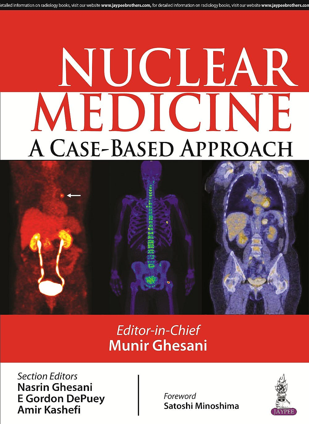 Portada del libro 9789351529651 Nuclear Medicine - a Case-Based Approach