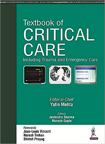 Portada del libro 9789351529682 Textbook of Critical Care
