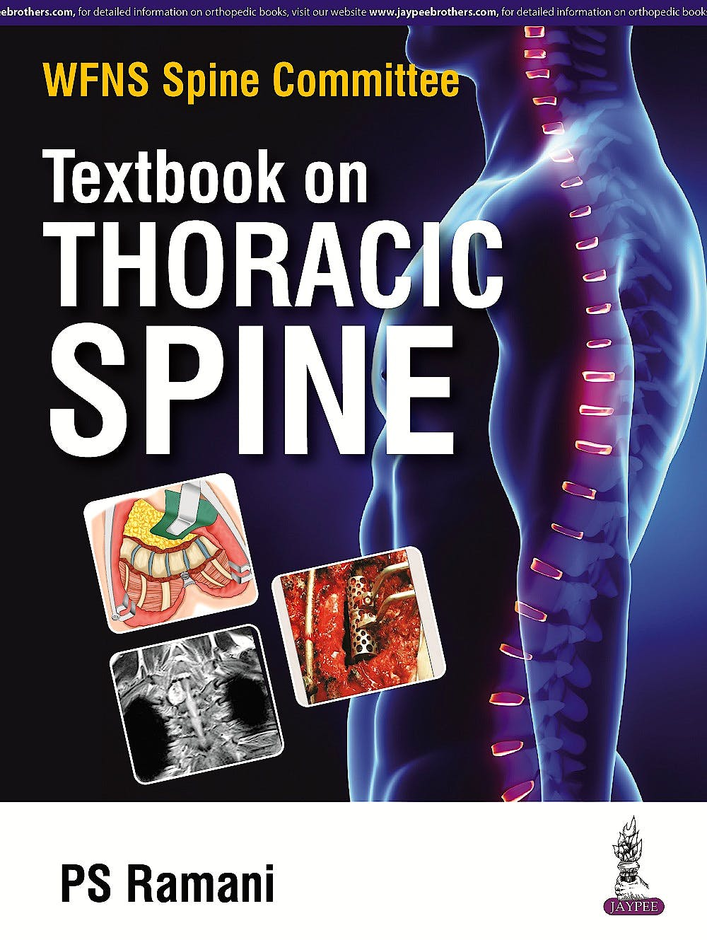 Portada del libro 9789352500079 WFNS Spine Committee Textbook on Thoracic Spine