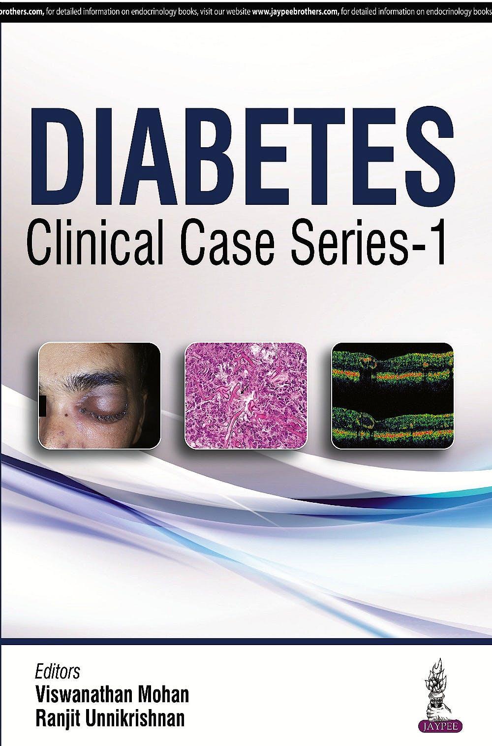 Portada del libro 9789352500321 Diabetes Clinical Case Series, Vol. 1