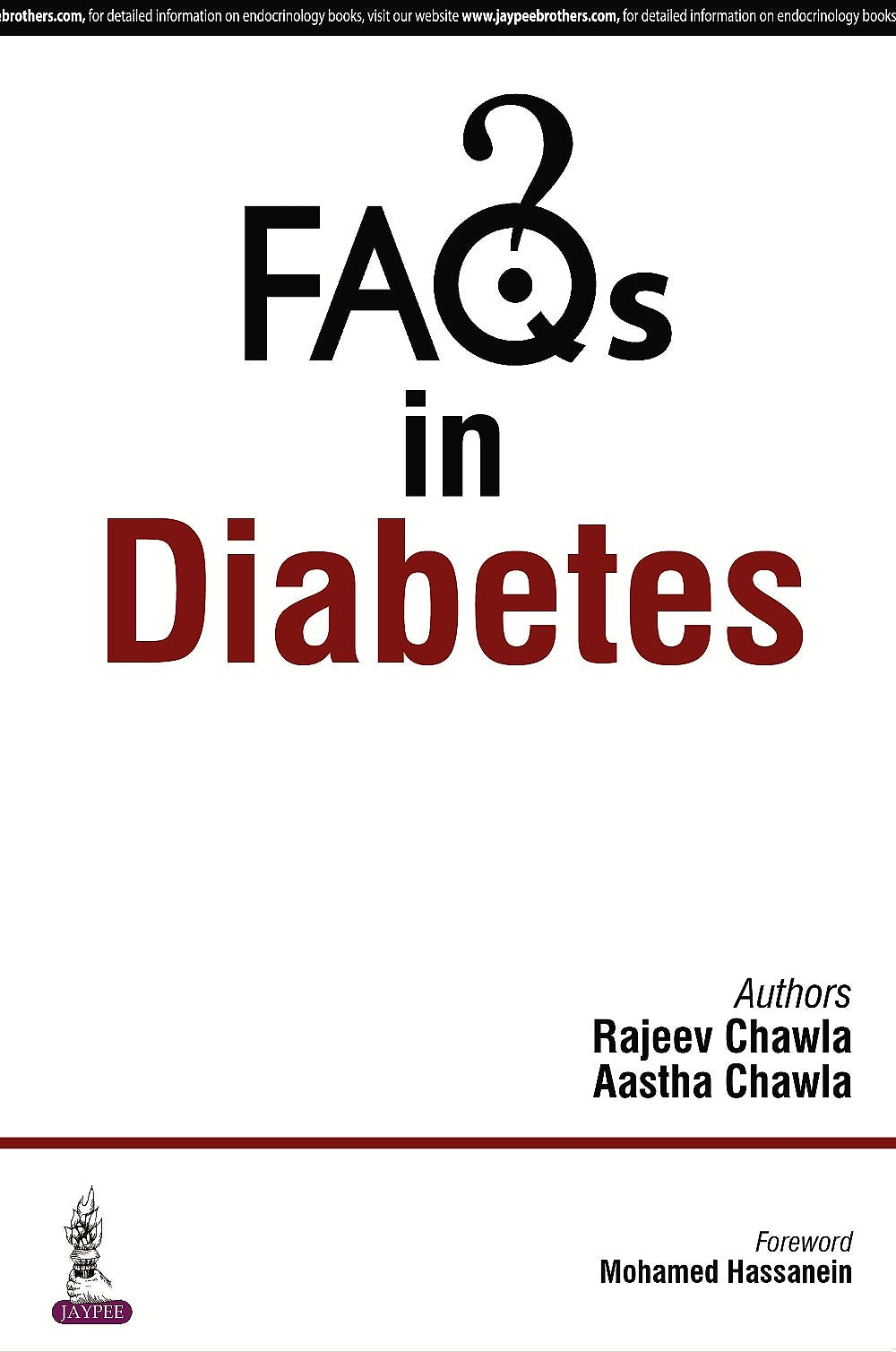 Portada del libro 9789352500505 FAQs in Diabetes