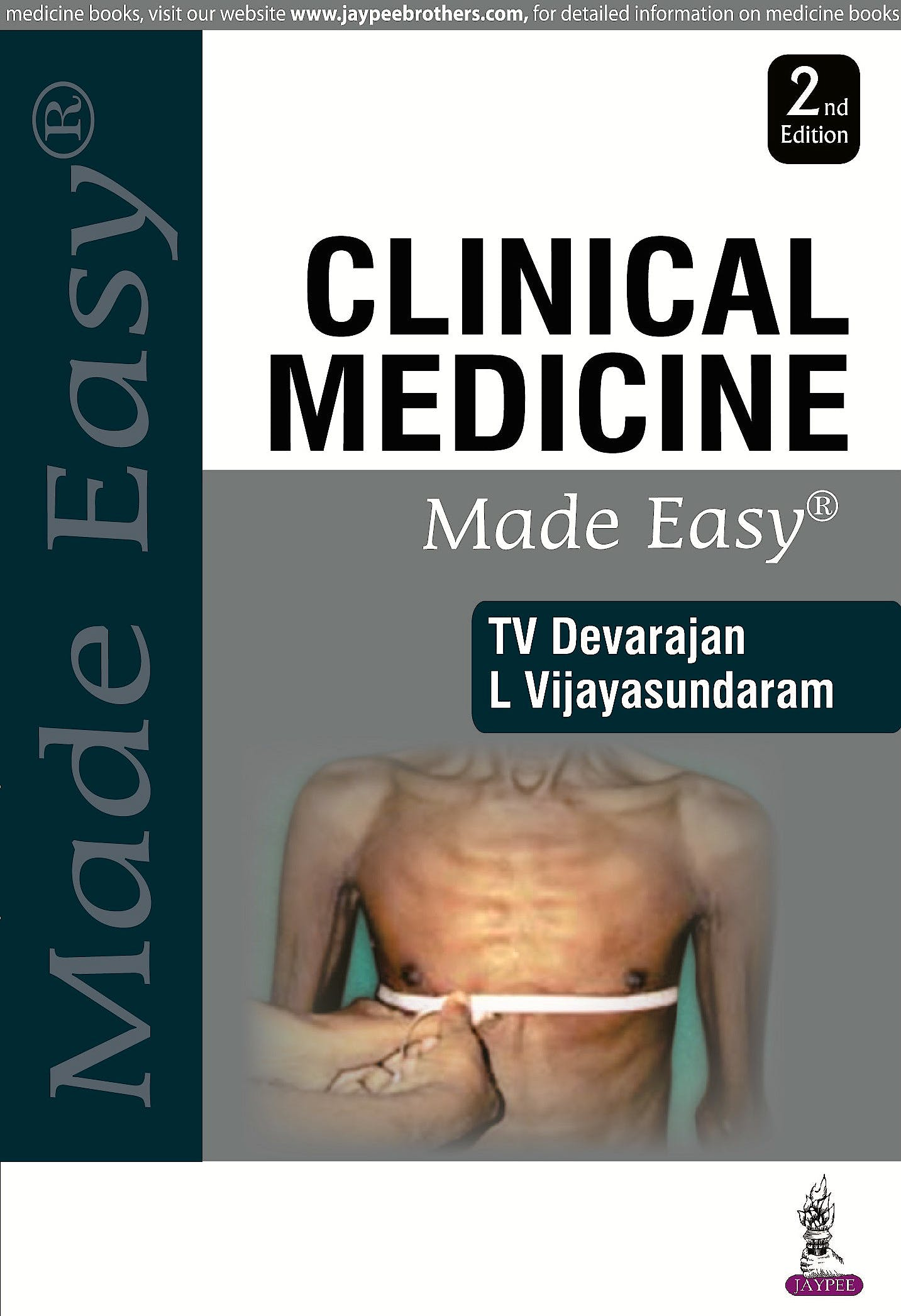Portada del libro 9789352501618 Clinical Medicine Made Easy