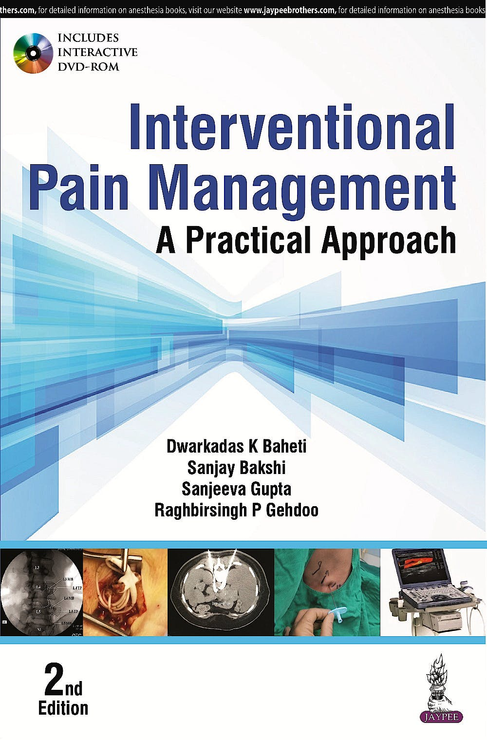Portada del libro 9789352501663 Interventional Pain Management. A Practical Approach + DVD