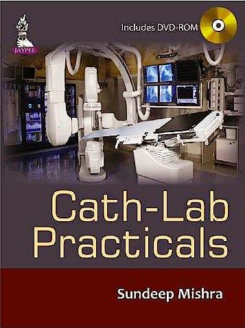 Portada del libro 9789352501854 Cath-Lab Practicals + DVD