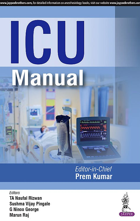 Portada del libro 9789352700301 ICU Manual