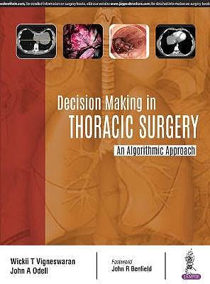 Portada del libro 9789352700387 Decision Making in Thoracic Surgery. An Algorithmic Approach