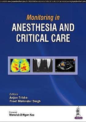Portada del libro 9789352700431 Monitoring in Anesthesia and Critical Care